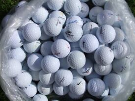 100 mixed golf balls all excellent condition