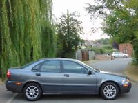 2001 Volvo S40 Automatic.. LIMITED EDITION.. LOW MILES.. FULL VOLVO HISTORY..