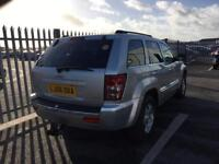 2006 Jeep Grand Cherokee 3,0 litre diesel 5dr automatic 2 owners