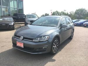 2016 Volkswagen Golf Sportwagon Comfortline l No Accident l Rare