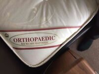 NEARLY NEW KING-SIZE ORTHOPEDIC WESTMINSTER DELUXE MATTRESS