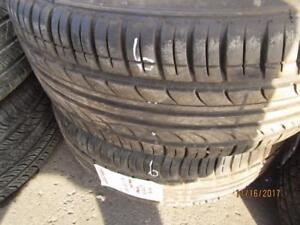 225/55R17 2 ONLY USED IRONMAN ALL SEASON TIRES