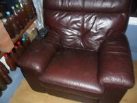 leather armchair electric recliner