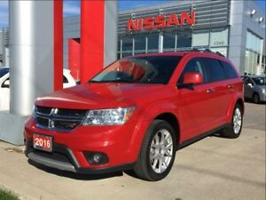 2016 Dodge Journey R/T AWD, UConnect, leather, heated seats