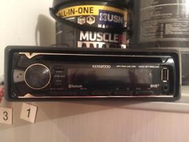 Kenwood KDC-BT39DAC Car Stereo | BT, USB, Aux....