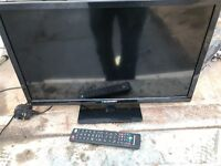 """Blaupunkt 23.6"""" led to with remote"""
