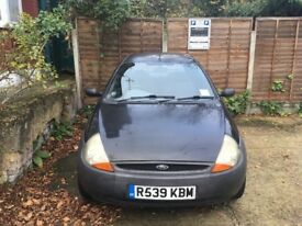 Ford KA, 90,000 miles, MOT to March