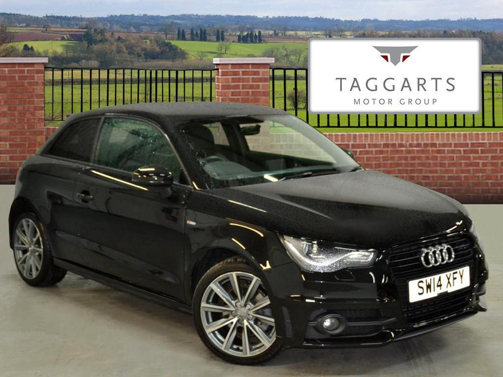 audi a1 1 4 tfsi s line style edition 3dr black 2014 03 18 in motherwell north lanarkshire. Black Bedroom Furniture Sets. Home Design Ideas