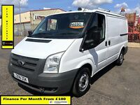 SALE SALE!!Ford Transit Van 2.2 300-1 Owner-EX BT, 75 K Miles, FSH - 8 Stamps, 1YR MOT -Elec Windows