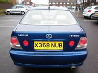 LEXUS IS200 SE AUTO BLUE PETROL