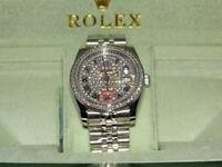 Rolex day date iced out face
