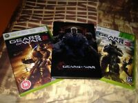 Gears Of War 2,3 and Judgment Xbox 360
