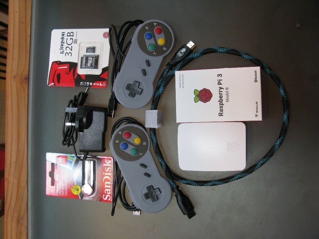 Retropie Raspberry Pi Arcade Console PS1 N64 SNES Sega Megadrive  Mastersystem Atari Gameboy Atari | in St George, Bristol | Gumtree