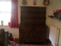 Ercol old colonial original dresser