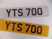 Cherished Number 'YTS 700'