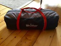 4-Man Tent for sale - Gelert Tornado 4 - Used with pegs and poles