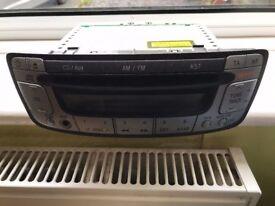 Aygo / 107 / C1 Stereo, Pioneer 10cm speakers, stereo mount