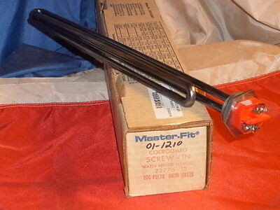 Master-fit Corrogard Screw In Water Heat Element 23775-12 200v 6000w