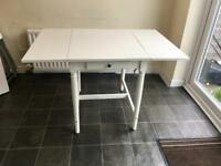 Dining table with chairs, Ikea