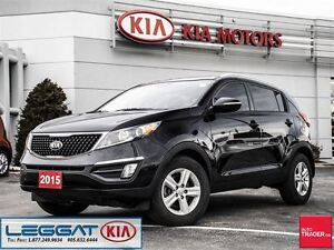 2015 Kia Sportage LX - No Accident, One Owner, ECO, Heated Seats