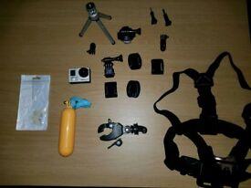 Go pro hero 3+ camera PLUS Accessories