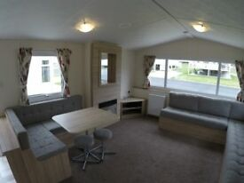 Nearly new 2016 Europa Rosewood caravan for sale at Percy Wood Country Park in Northumberland