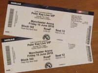 PETER KAY VIP TICKETS FRIDAY 15TH JUNE 2018