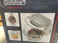 Halogen worktop cooker