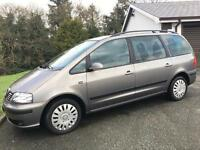 SEAT ALHAMBRA TDI ECOMOTIVE 2010 ***MOT DECEMBER 2017*** 7 SEATER*** ONLY 79000 MILES***