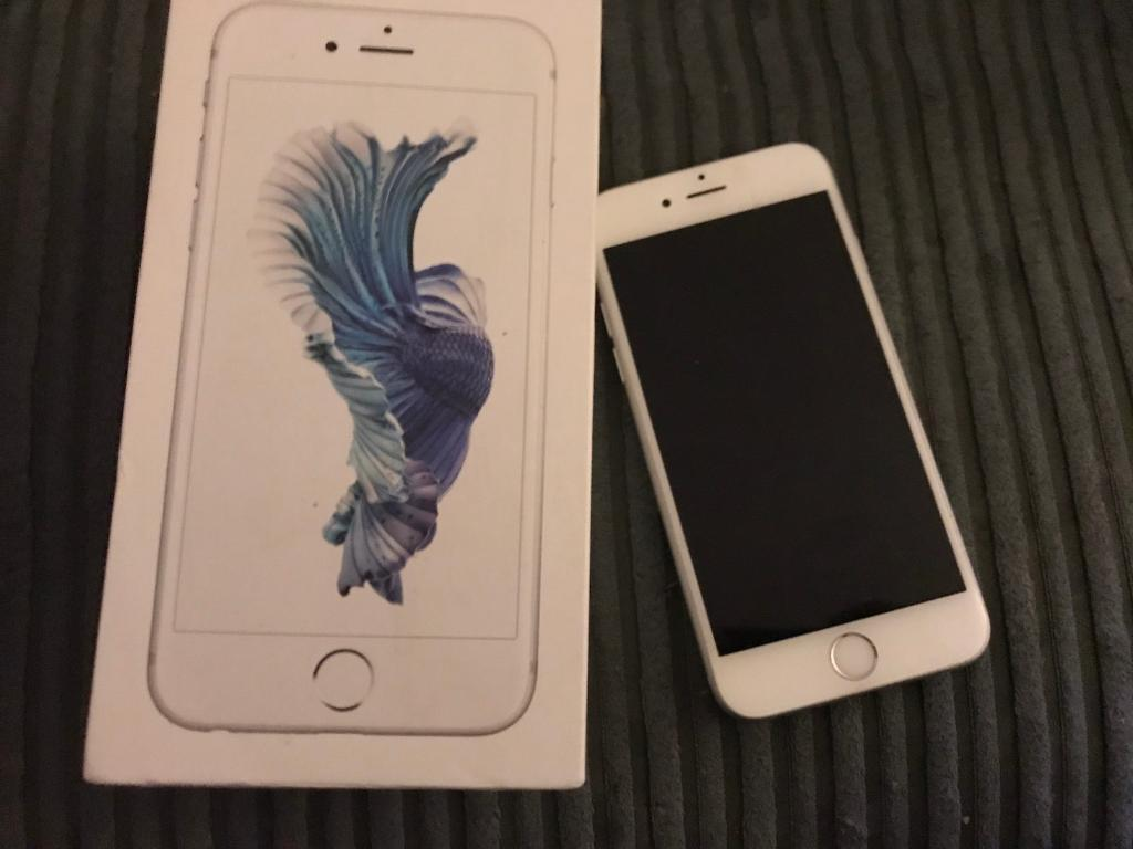 Apple iPhone 6s silver 64gbin Chesterfield, DerbyshireGumtree - ‭‭ Apple iPhone 6s