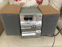Sony cd/tape stereo player