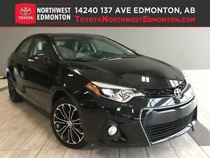 2015 Toyota Corolla S | Leather Trim | Heat Seats | Manual | AC