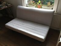 £60 SOFA BED (IKEA LYCKSELE) TO PICK UP BY MONDAY 30th NEXT TO HACKNEY DOWNS