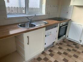 Cream shaker kitchen, worktop and appliances- Household goods