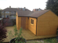 garden sheds and summer houses