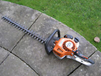"stihl hs45 24"" hedge cutters 12 month old"