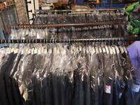 Joblot of gents and ladies suits & workwear mixed lot
