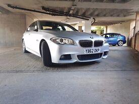 2013 BMW 520D M SPORT AUTO DIESEL SERVICE HISTORY AUTOMATIC LOW mileage (no part exchange )