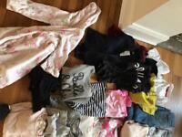 Large clothing bundle girls clothing