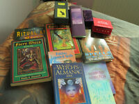 Colection of witchcraft books