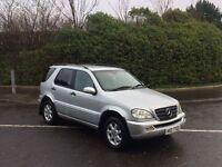 2003 Mercedes ML270 CDI 4 Wheel Drive