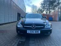 2006 Black Mercedes CLS 320 Diesel automatic 7G, 12 months mot, FSH, amg alloys