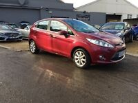 2009 59 FORD FIESTA ZETEC 1.4 TDCI ..... HPI CLEAR ..... 37000 MILES ..... P/X WELCOME