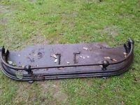 Antique Iron Firesurround - Victorian as found
