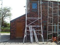 boss scaffold tower 1.8m long