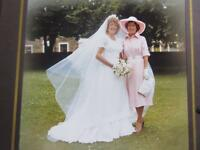Vintage 70s Wedding Dress