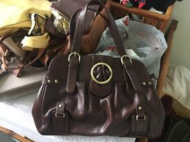 Selection of ladies bags