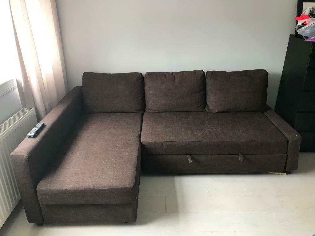 quality design 3c4dc fb4a2 IKEA FREIHEITEN L SHAPE CORNER SOFA BED COUCH | in Southside, Glasgow |  Gumtree
