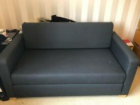 IKEA Navy Blue Sofa Bed