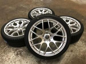 19 Hyper Silver Wheels 5x112 and Summer Performance Tires 255/35R19 (Audi Cars) Calgary Alberta Preview